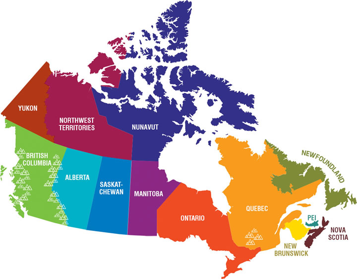mlihomestay experience canada map